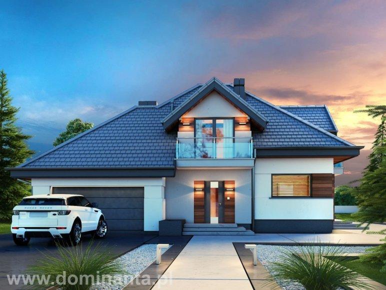 Projekt domu Alicja Dominanta